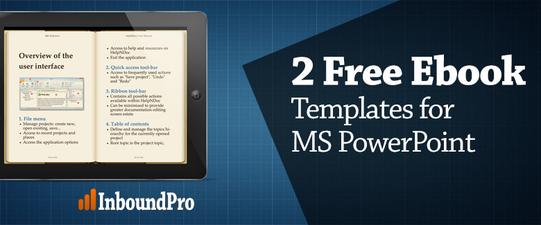 2 Ebook Templates for PowerPoint: Free Download