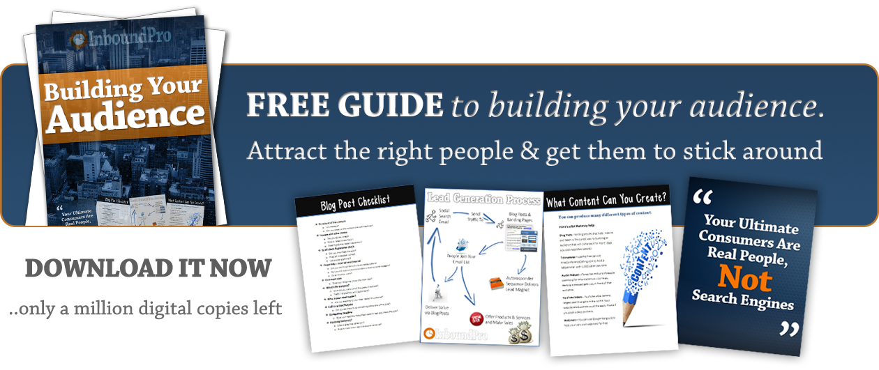 build your audience guide